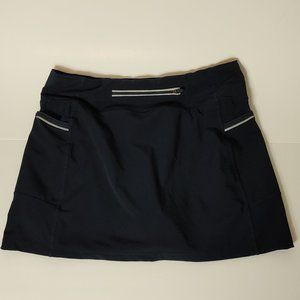 Athleta Active Navy Skort Skirt Shorts